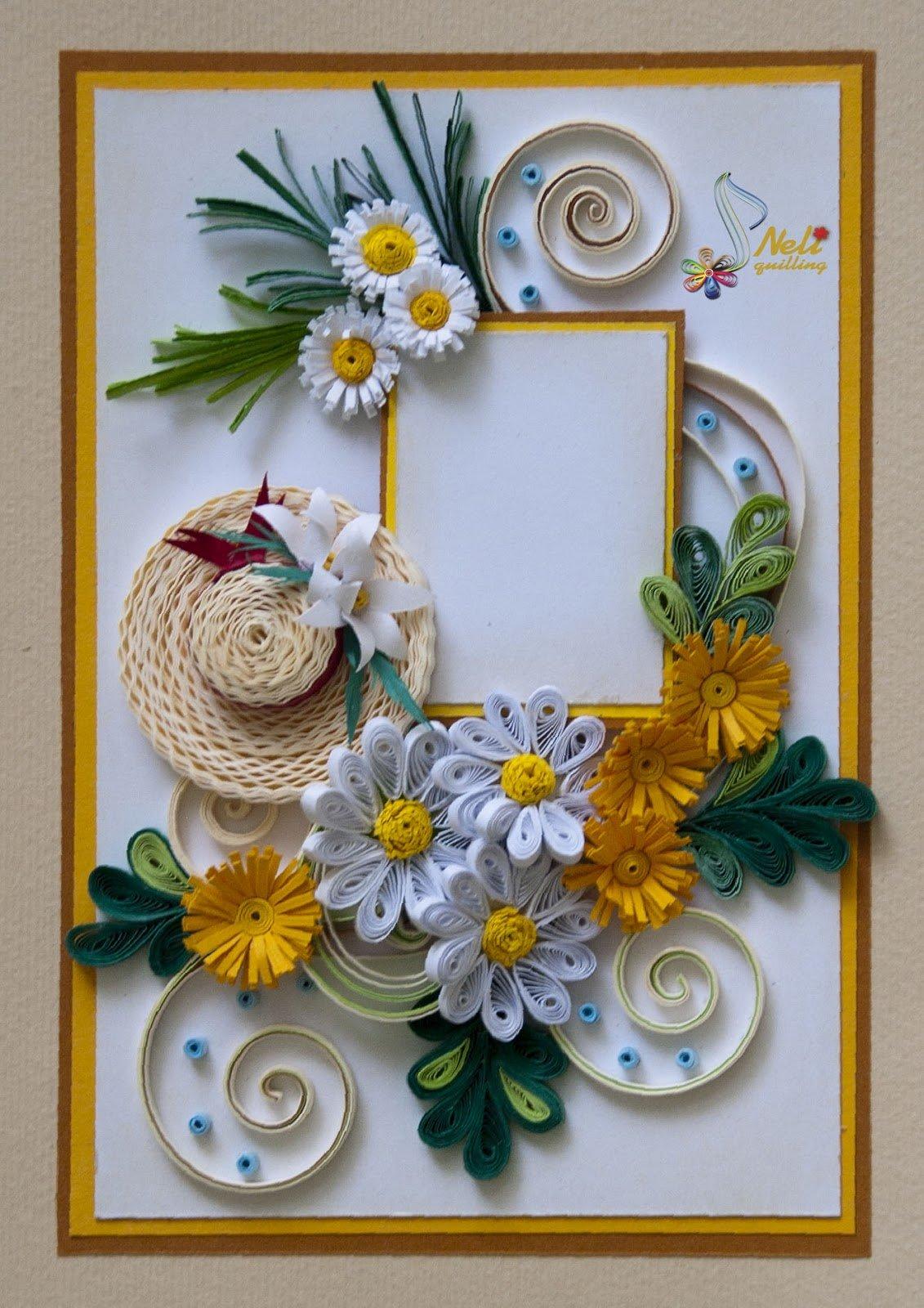 Открытки квиллинг картинки, открытки поздравления днем