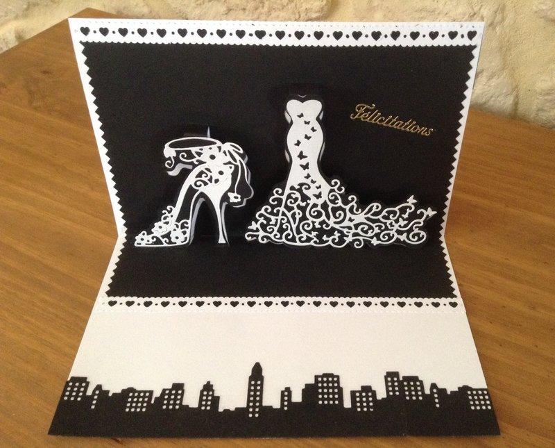 Черно белая открытки
