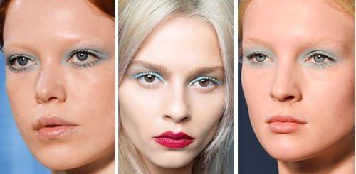 Модный макияж 2016-2017 сочетает в себе стили и модные расцветки разных эпох