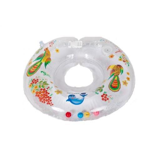 Круг для купания подарит вашему ребенку массу удовольствия и развлечения в воде.