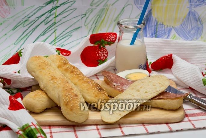 Хлебные палочки рецепт с фото