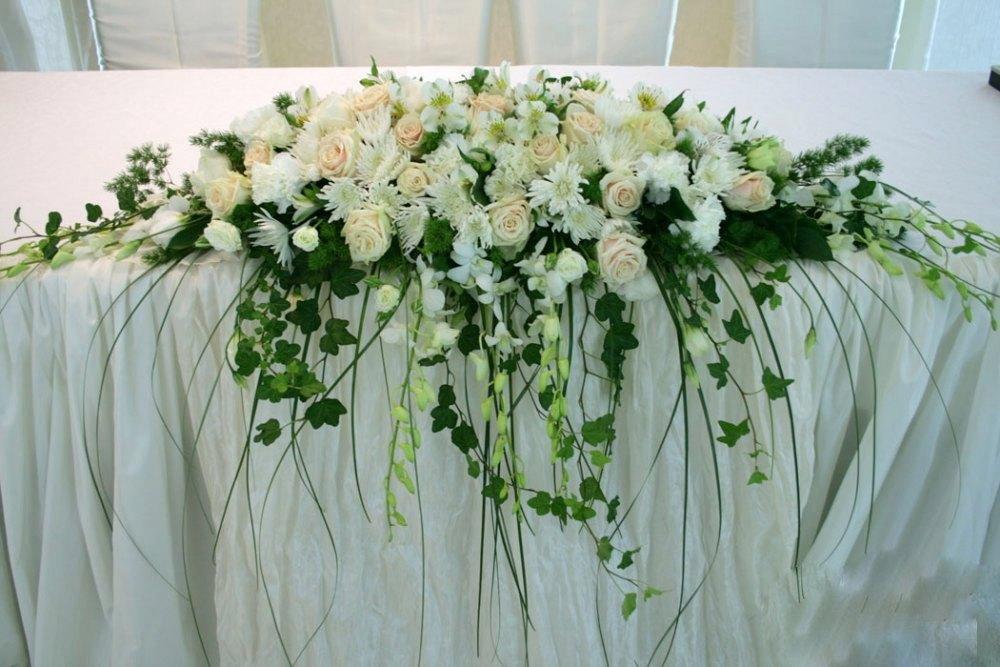 Букет, букет для украшения свадебного стола фото
