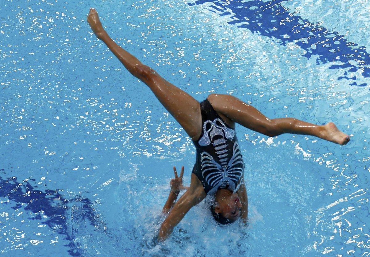 фотопринтер синхронное плавание фотографии спортсменок основном
