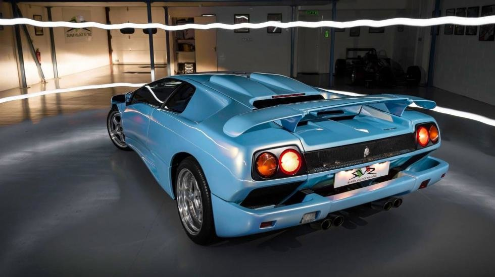 Lambo Diablo Sv Back Card From User Chehdr In Yandex Collections