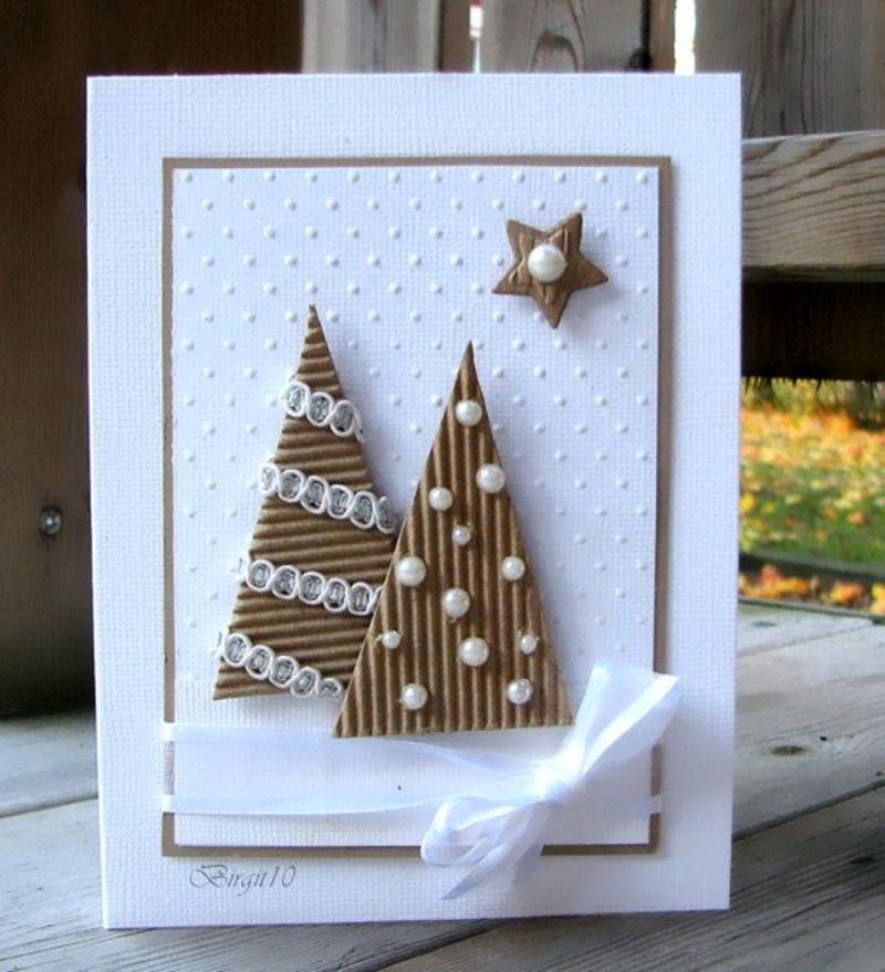Новогодняя открытка к рождеству своими руками, рождеством христовым