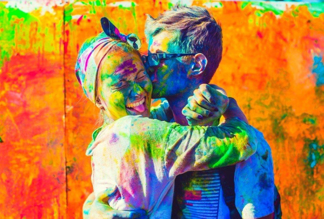 картина с фотографии раскрашенная красками период