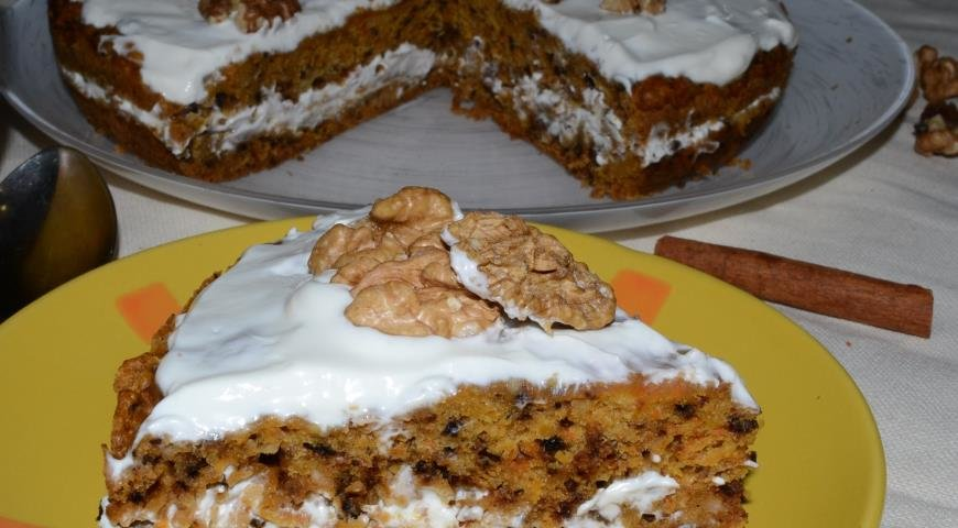 Морковный кекс в мультиварке рецепт с фото