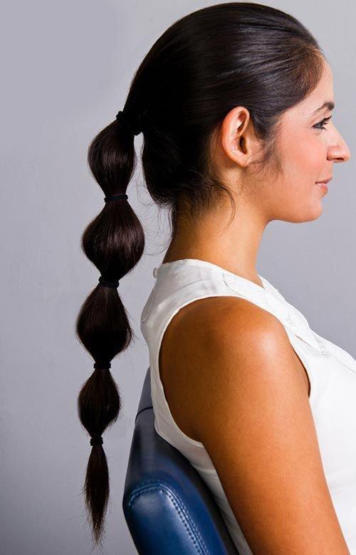 Прическа жасмин на длинные волосы