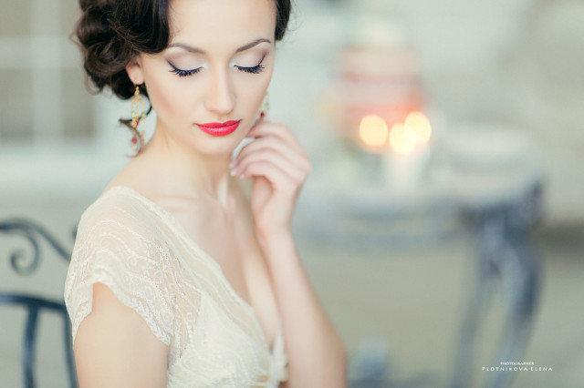 невеста визаж