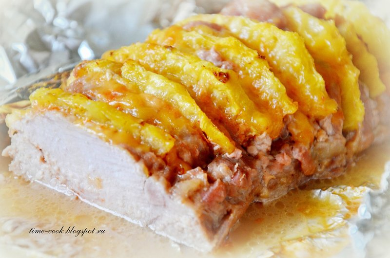 Блюда ананасами рецепты фото