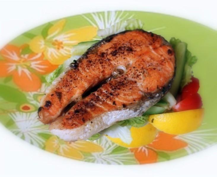 стейк из рыбы в духовке рецепт с фото