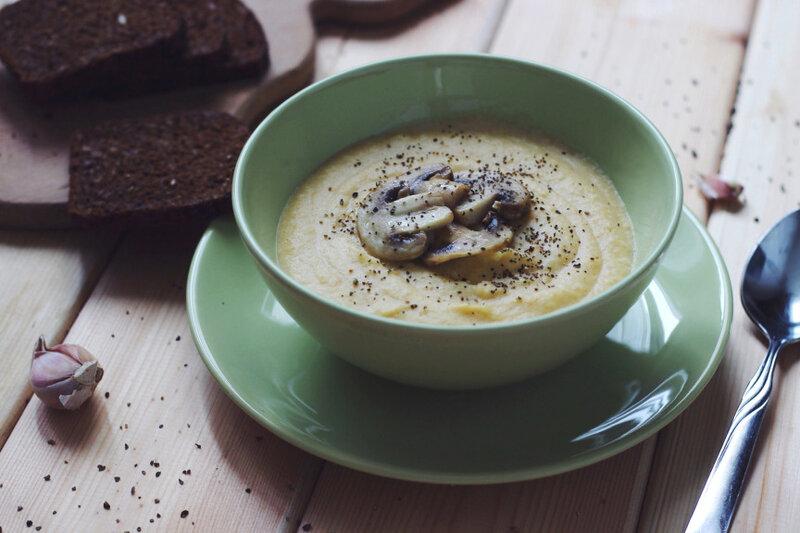 Крем суп из цветной капусты фото рецепт
