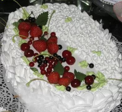 торт ягодный рецепт
