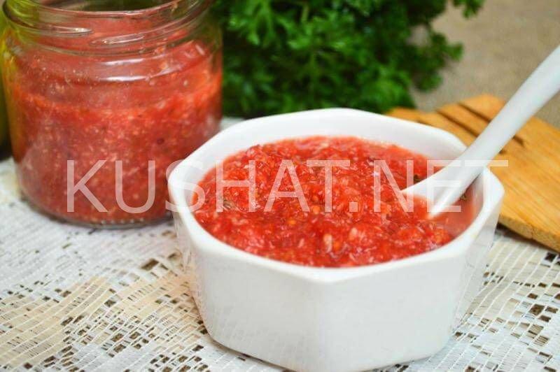 соус из помидор пошаговый рецепт с фото