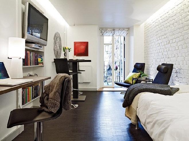 Дизайн студии 25 кв.м.
