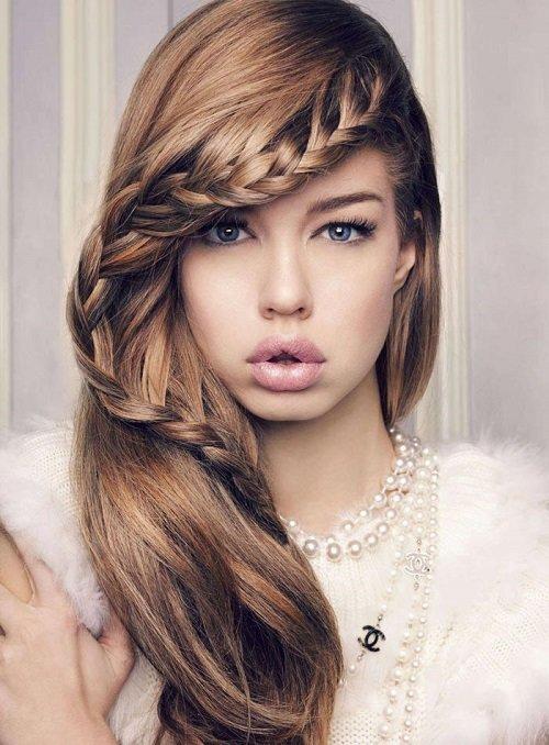 самые красивые прически на средние волосы фото