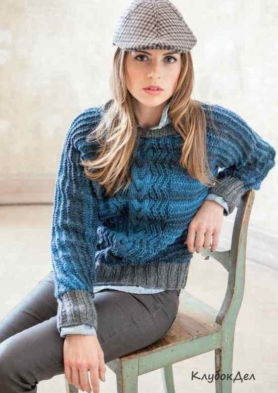 Джемпера пуловеры для женщин спицы