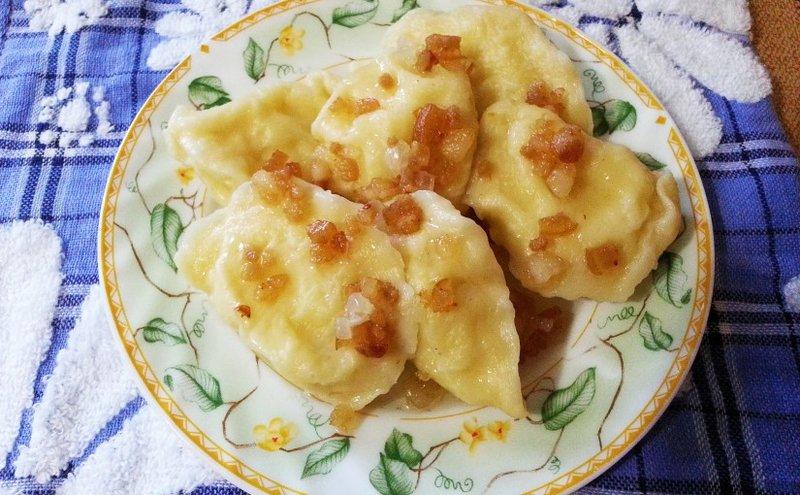 вареники с картошкой рецепт приготовления с фото