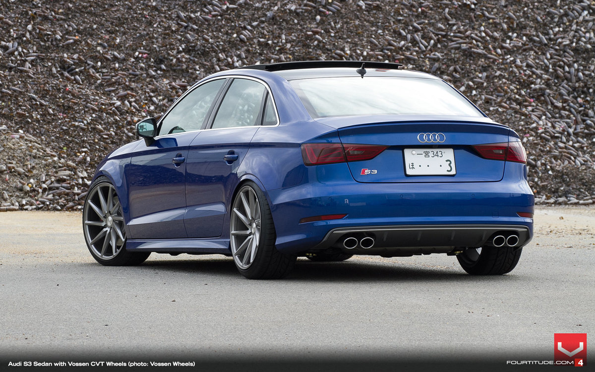 171 Audi S3 седан вид сзади 187 карточка пользователя R