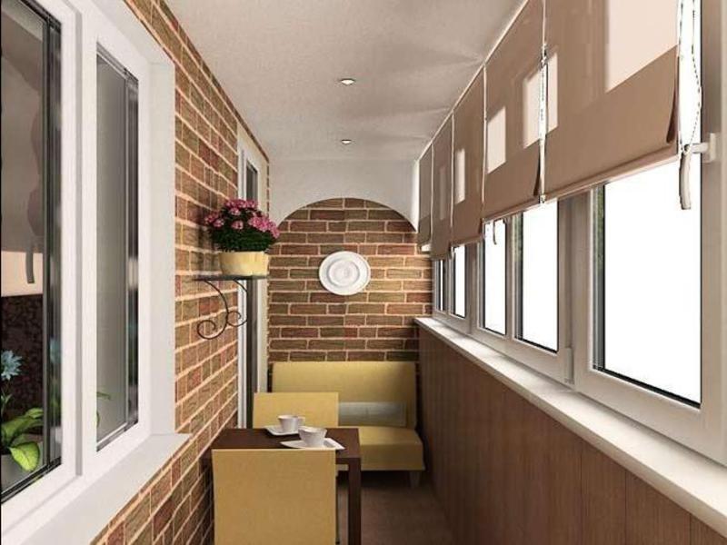 Создание дизайнерского интерьера на балконе своими руками: и.