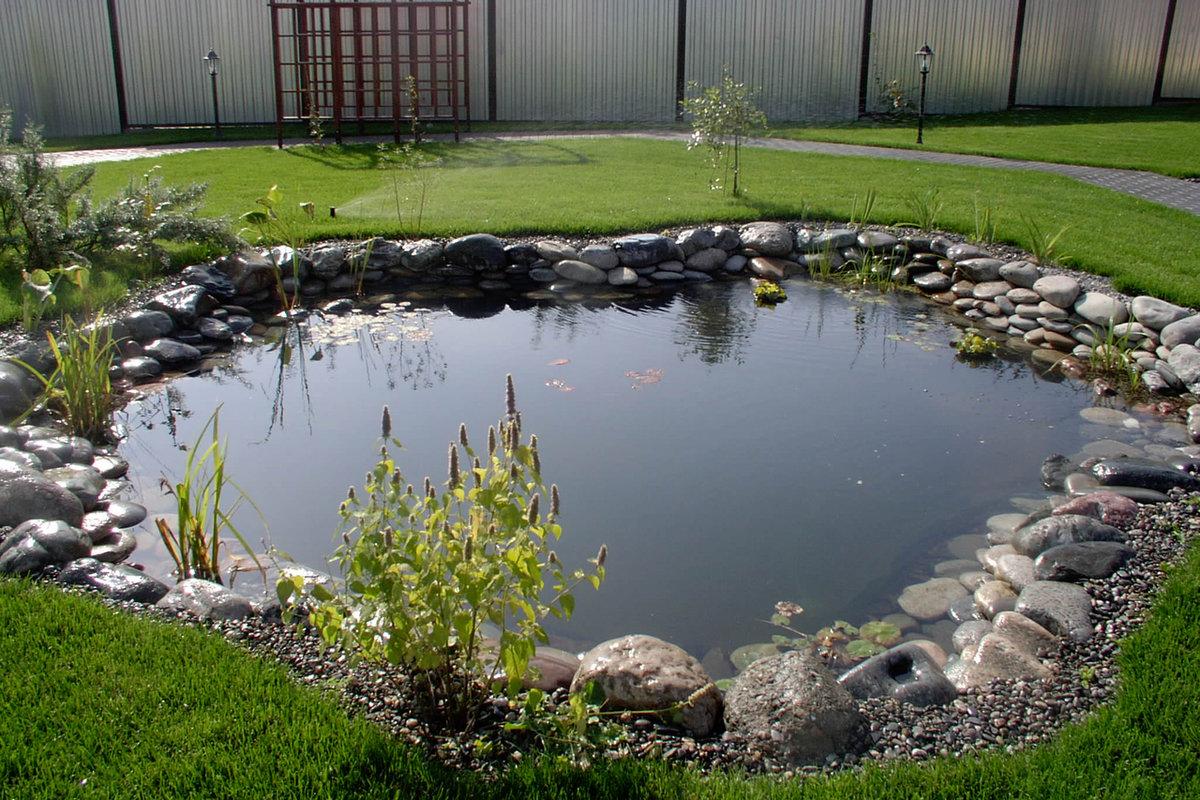 как создать искусственный водоем