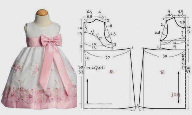 55e7921e67b Выкройка нарядного платья для девочки 1 год» — карточка пользователя ...