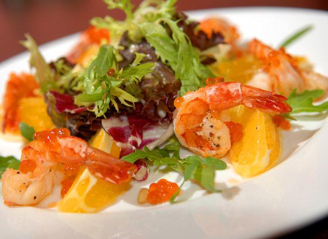 Рецепты салатов с морепродуктами с фотографиями