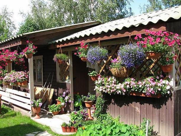 Красивый маленький сад 51