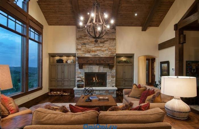 Мы подобрали для Вас множество интересных дизайнов с коричневым оттенком. Коричневый интерьер гостиной - универсальное решение для любого стиля!