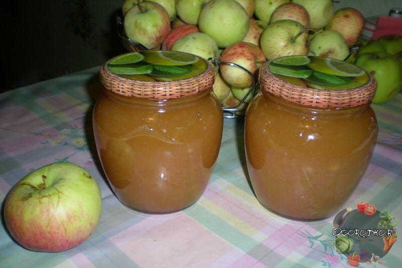 Компот из яблок заготовки