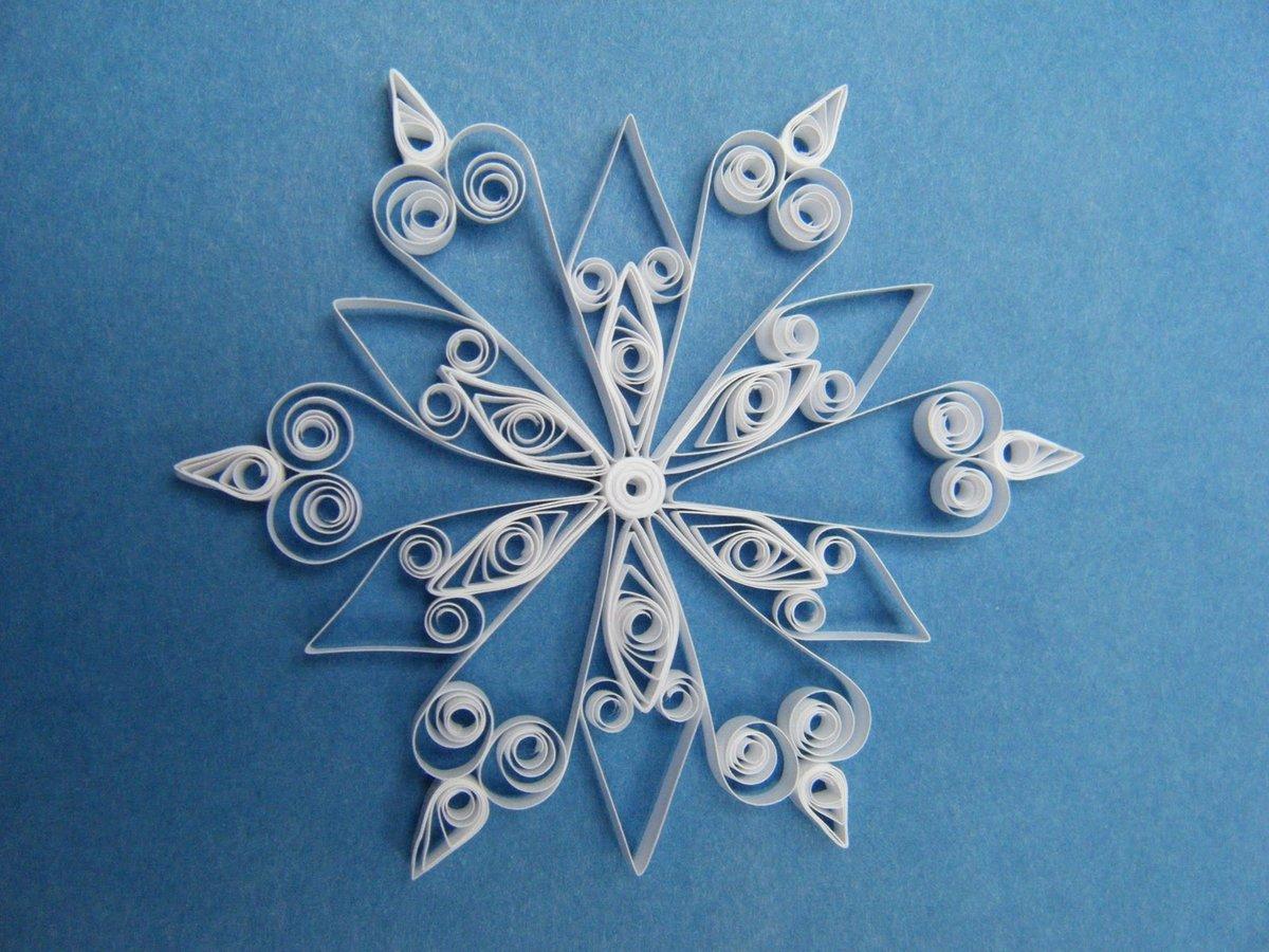 новогодние поделки снежинки схемы картинки каждый