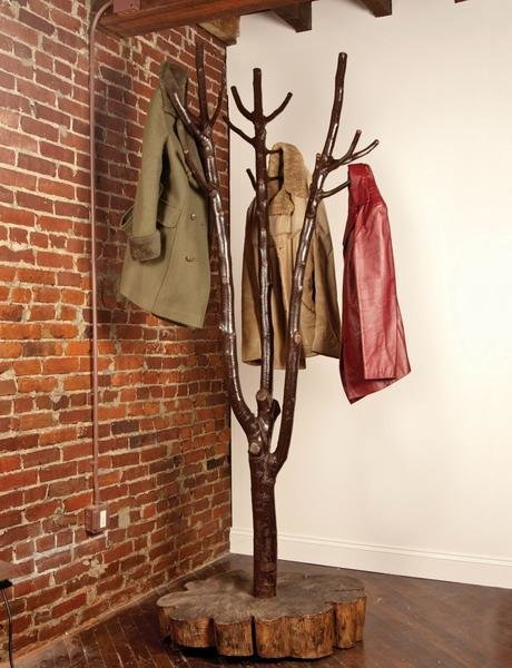 Дизайнерские вешалки для одежды, сумок и вещей Интерьер