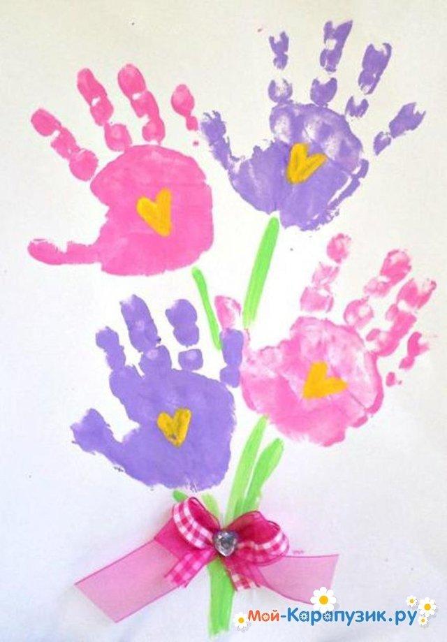 Подруге, открытки для бабушки от малышей