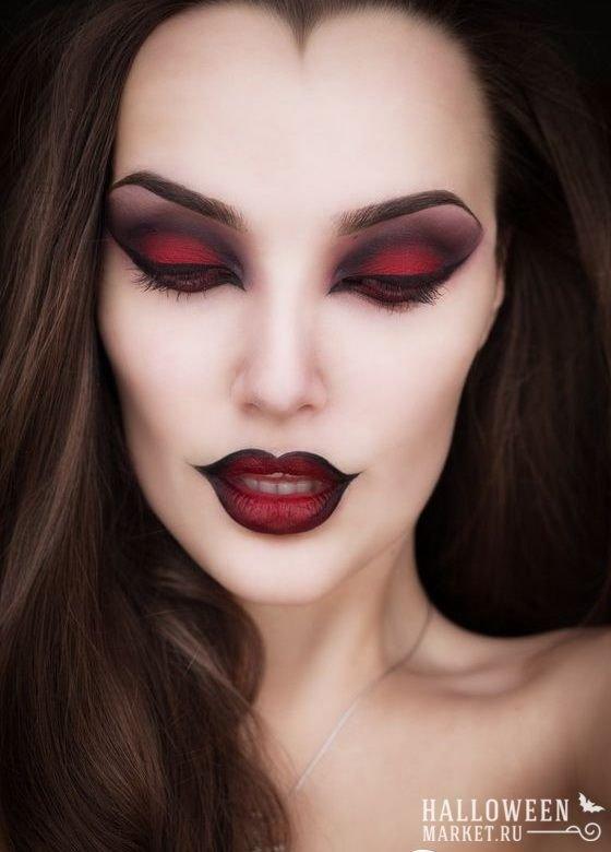 макияж на ведьмы хэллоуин фото