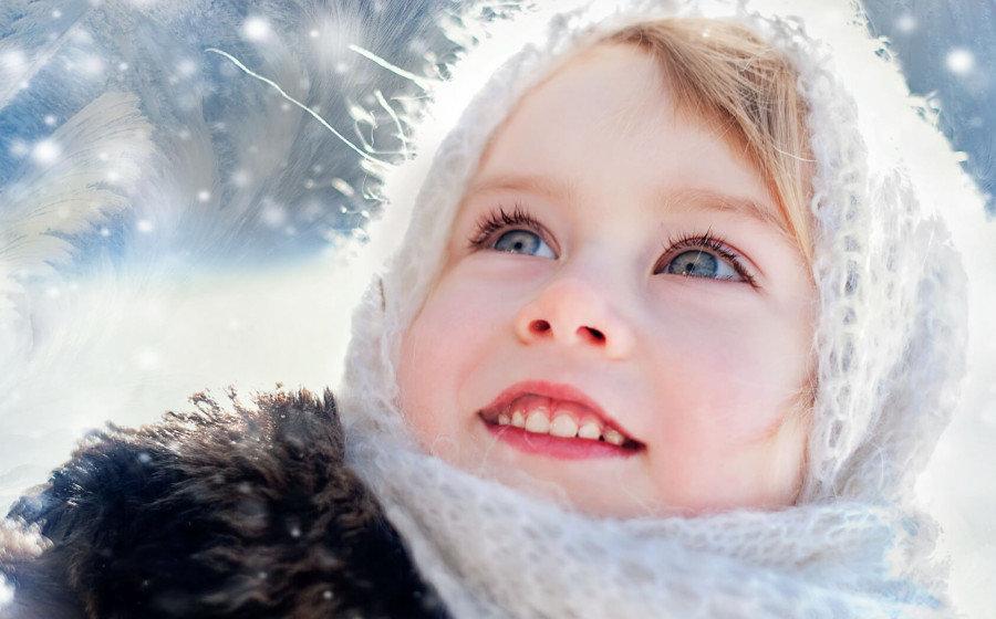 Картинки дети зимой красивые, днюхой женщине днем