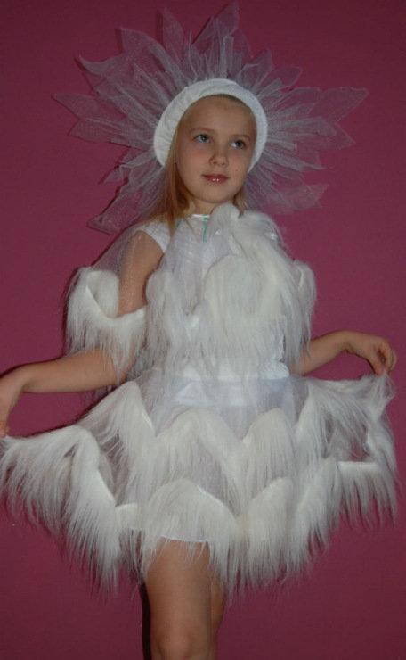 Как сделать костюм льдинки своими руками