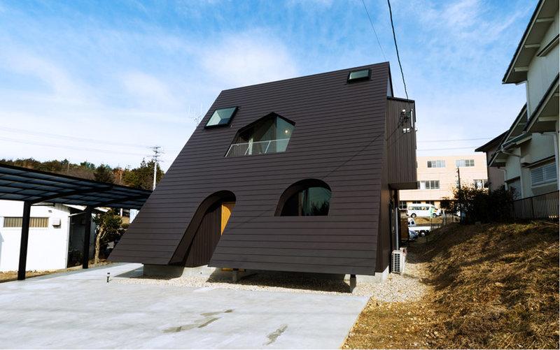 Современный японский домик