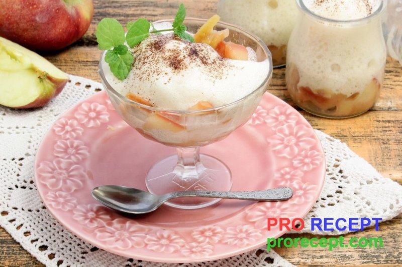 Простые десерты с яблоками рецепты с фото