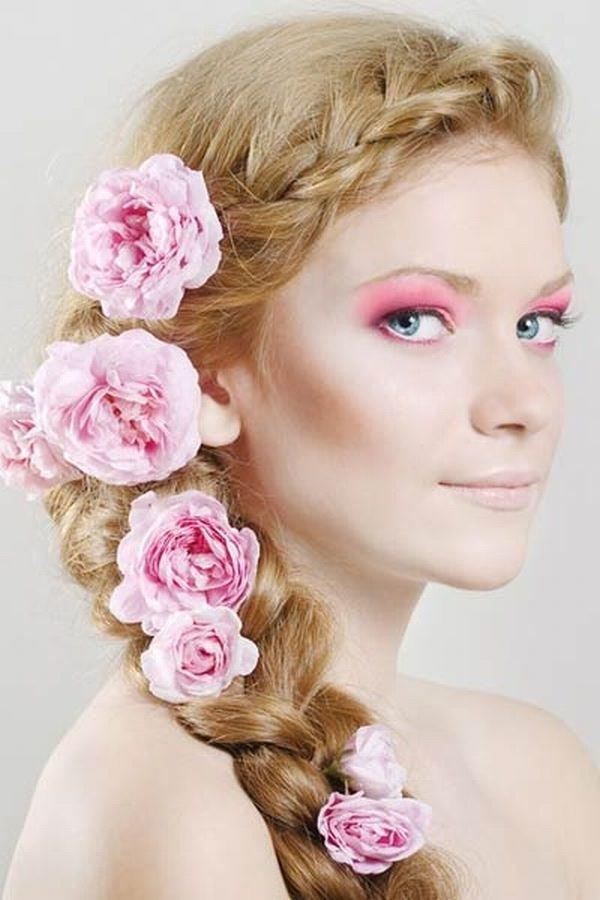 цветы в косе фото своей звездной
