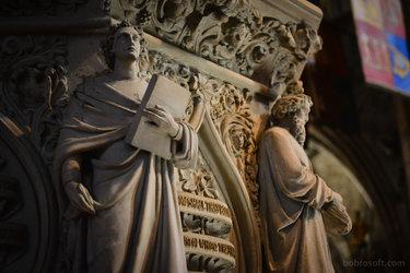 скульптуры нотр дама