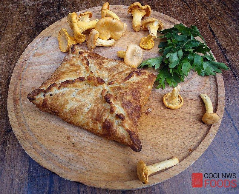 Пирожки с лисичками рецепт с фото