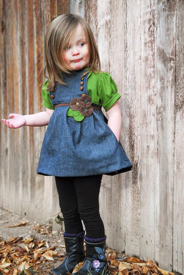 Шьем модную одежду для девочки