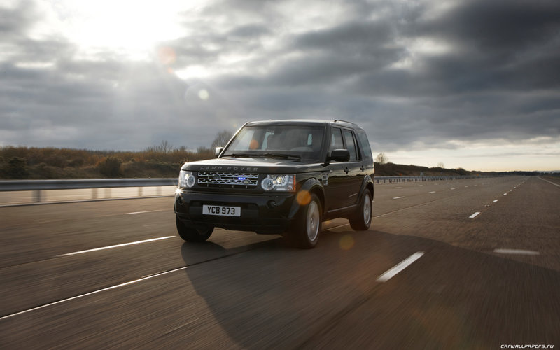 Land Rover Discovery 4 Armored