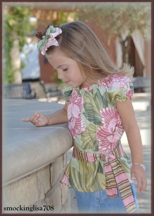 как сшить блузки для дочки выборе