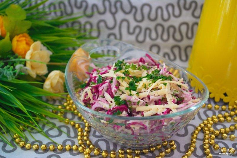 Салатики на каждый день рецепты с фото