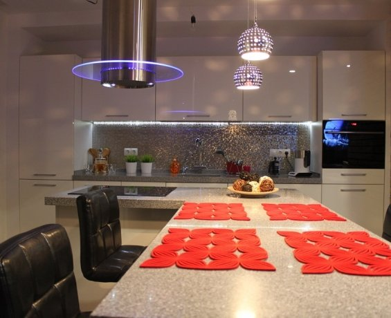 Ноу - хау в дизайне кухни.
