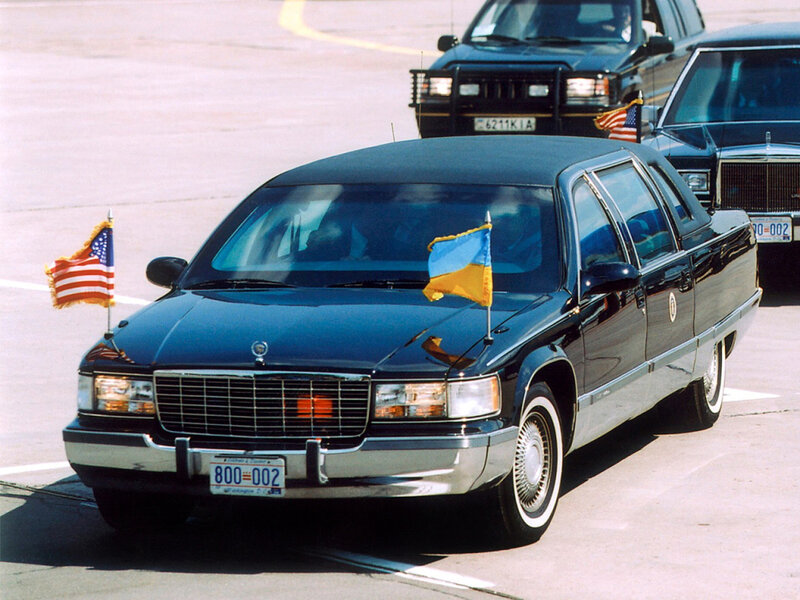 Cadillac Fleetwood Brougham Formal Limousine by Moloney