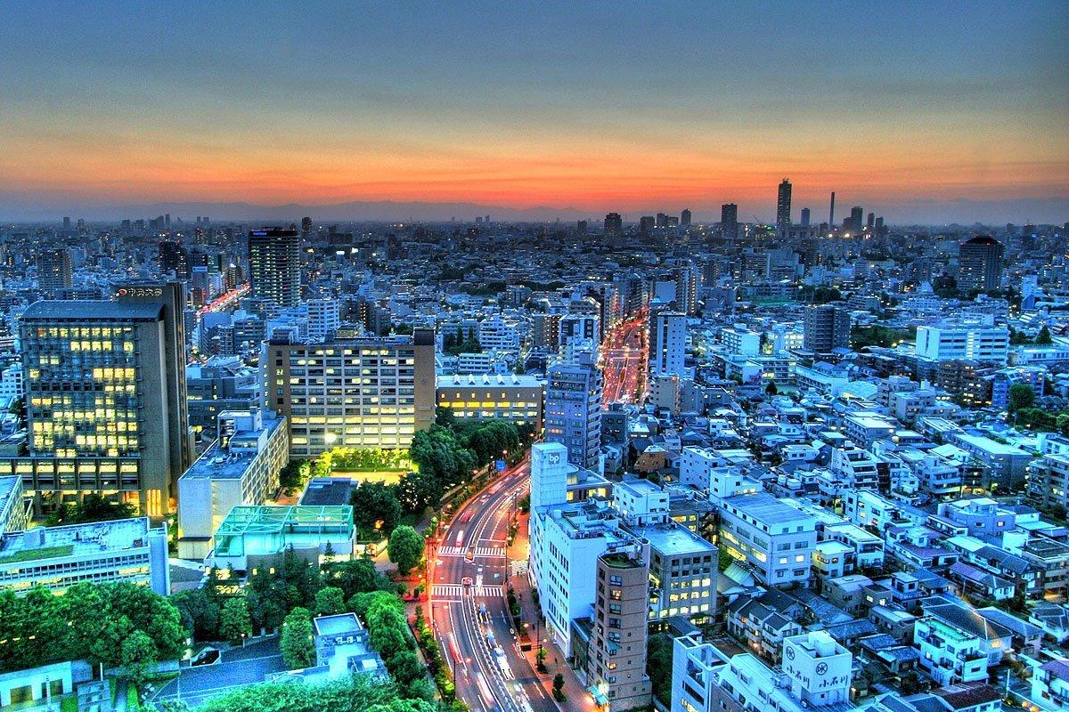 токио фотографии города лучших отелей