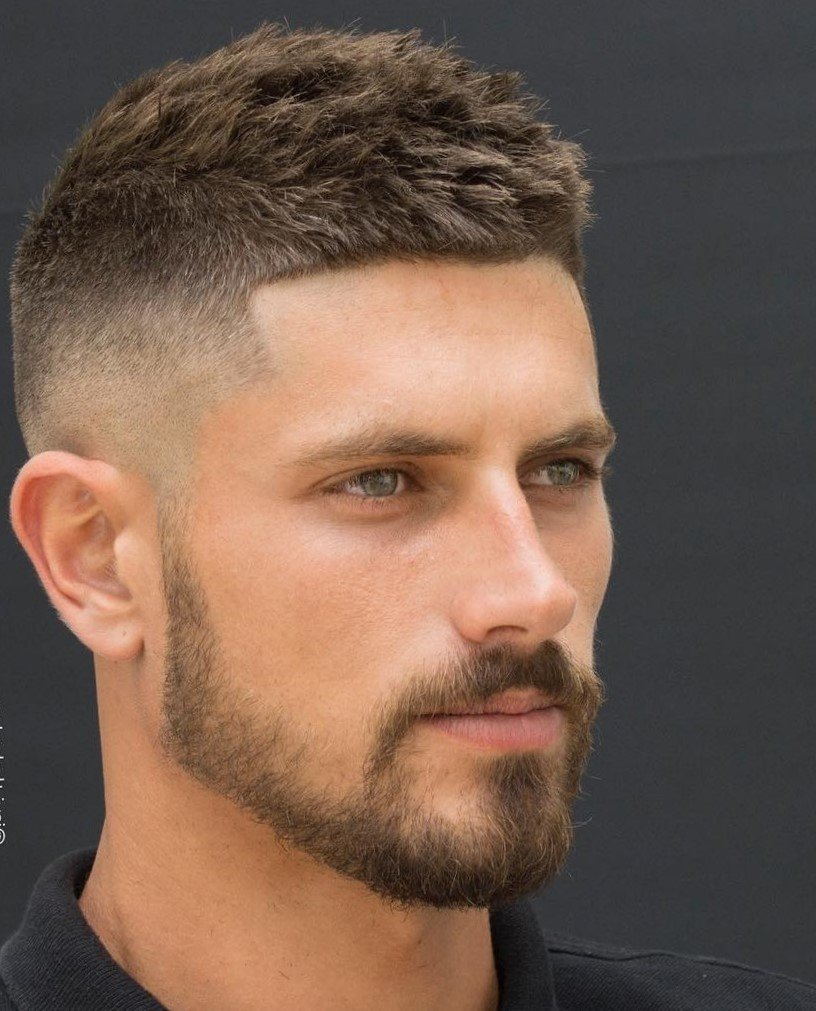 What Is A Fade Haircut On Men Haircuts Models Ideas Card From