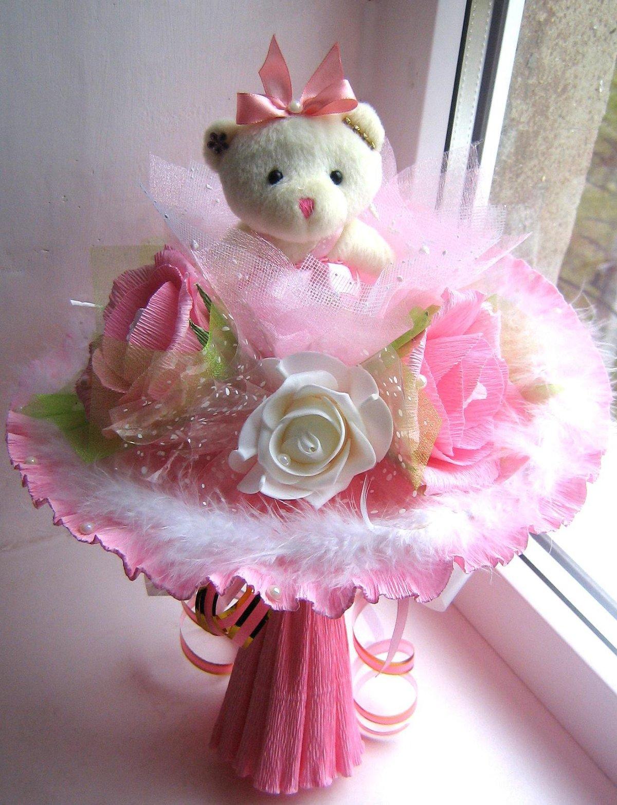 Букет для маленькой девочки своими руками, цветы оптом продажи
